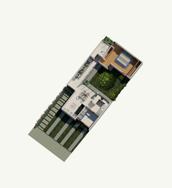 Rudin Arquitectura – Casa Flex – Fase 1 – planta baja