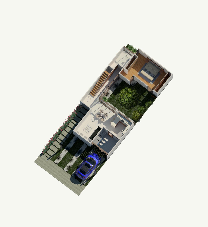 Rudin Arquitectura – Casa Flex – Fase 2 – planta baja