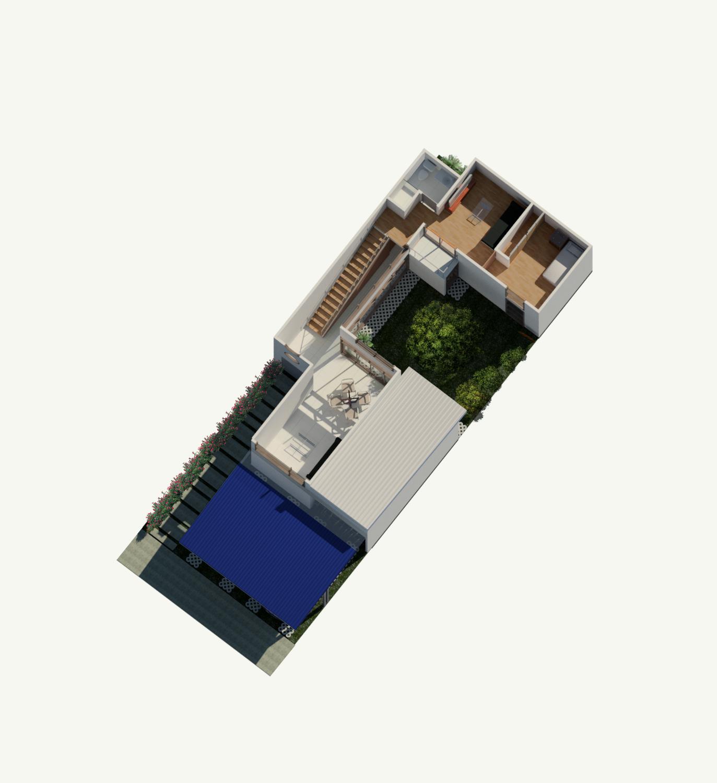 Rudin Arquitectura – Casa Flex – Fase 3 – planta alta