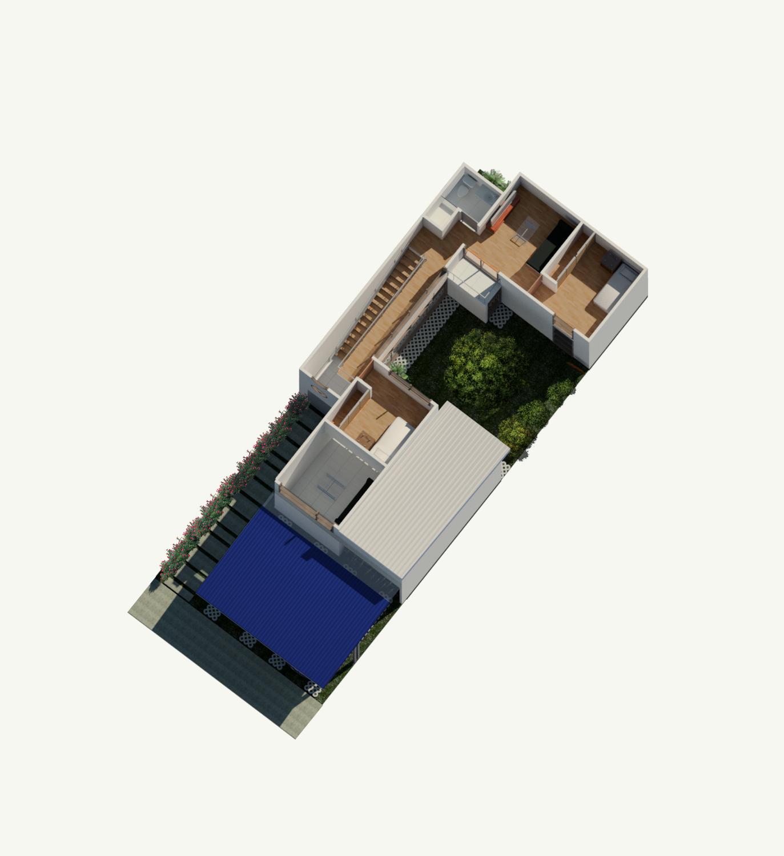 Rudin Arquitectura – Casa Flex – Fase 4 – planta alta