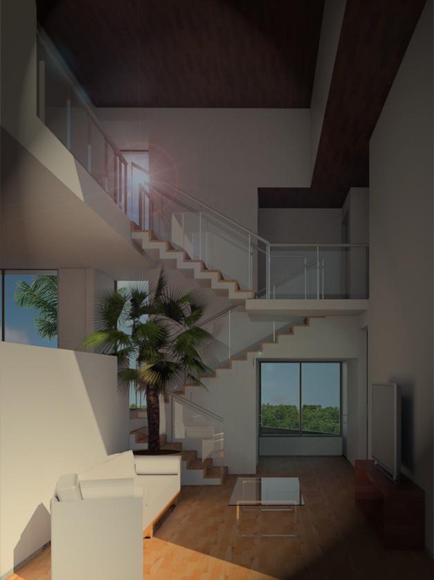 Rudin Arquitectura – render interno