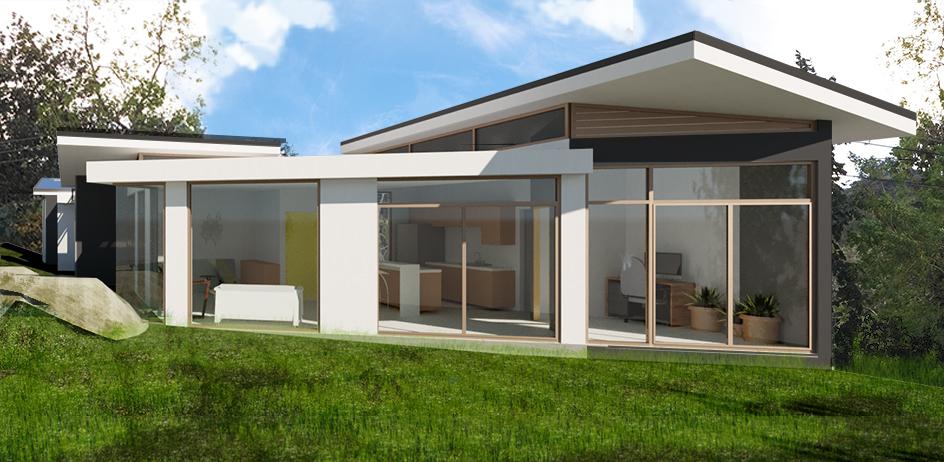 construccion casa - Rudin Arquitectura
