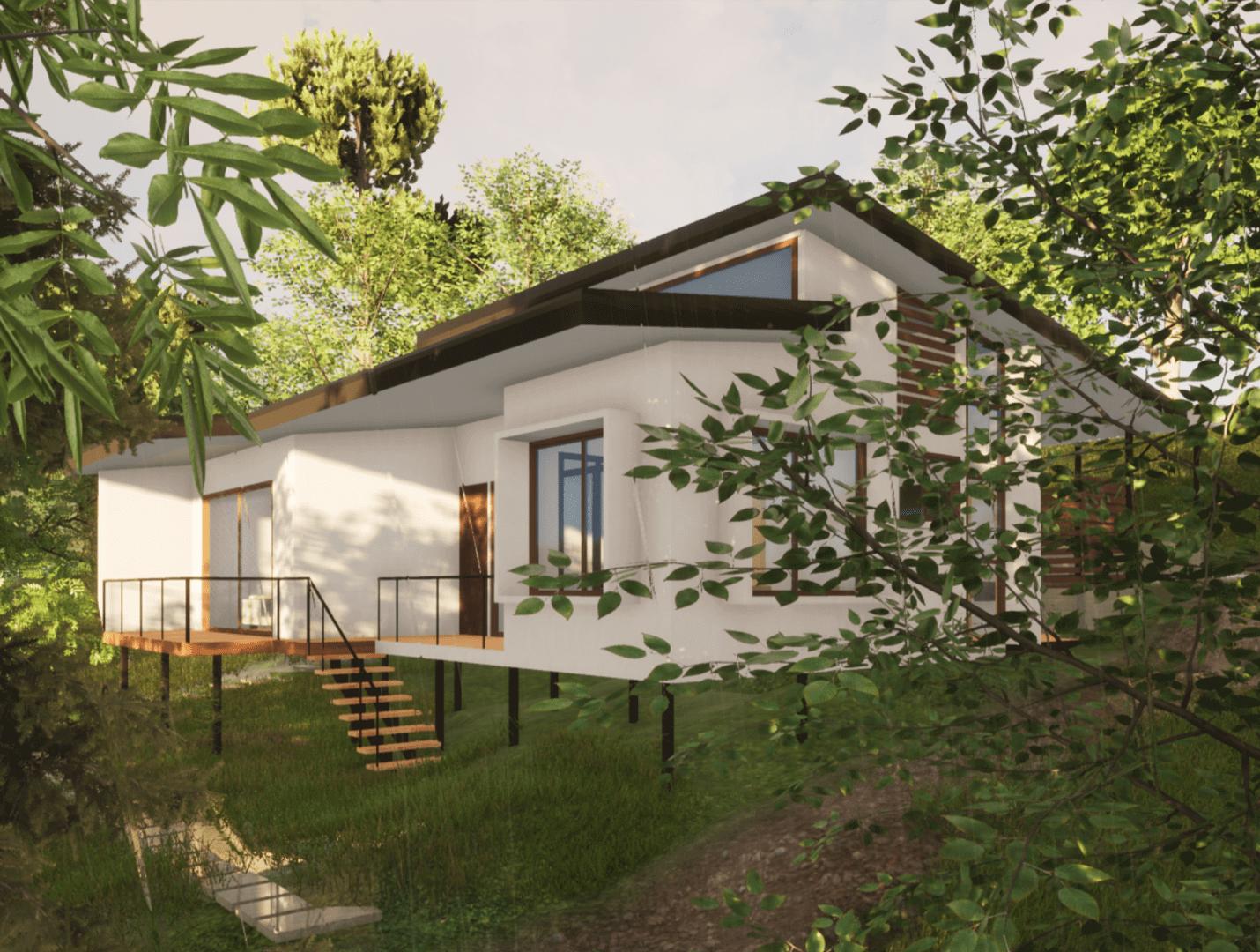 Casa Floresta portafolio Rudin arquitectura