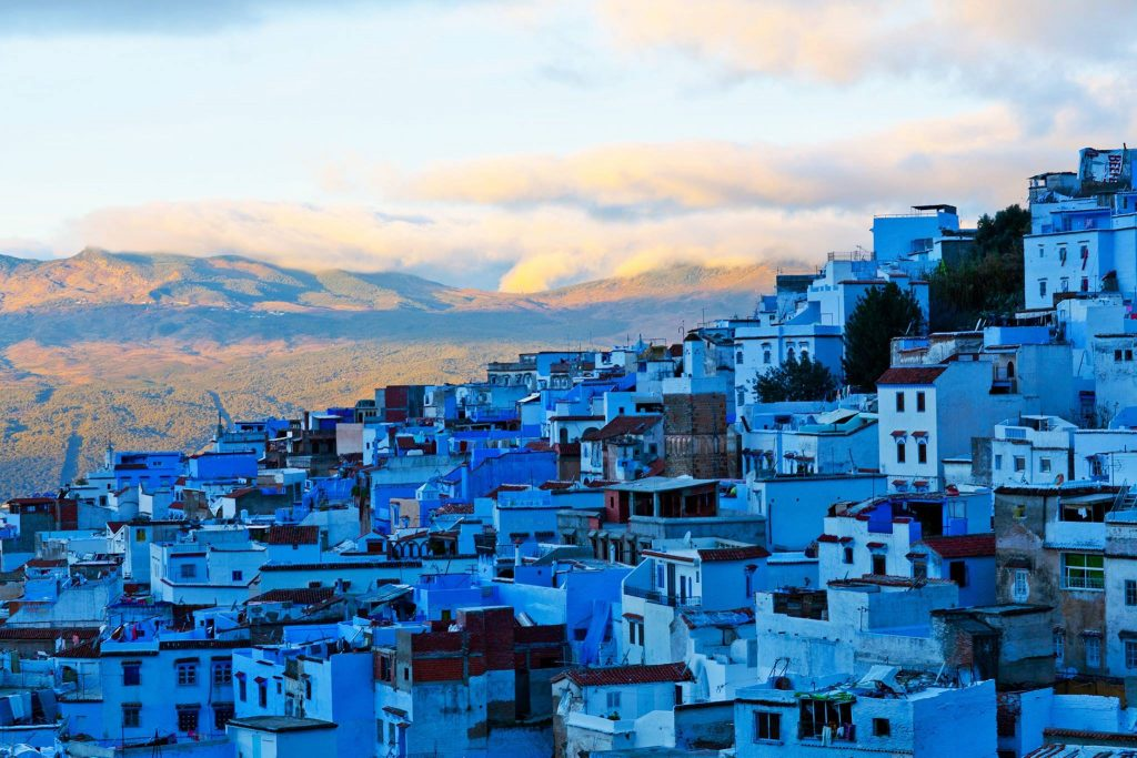 ciudad azul