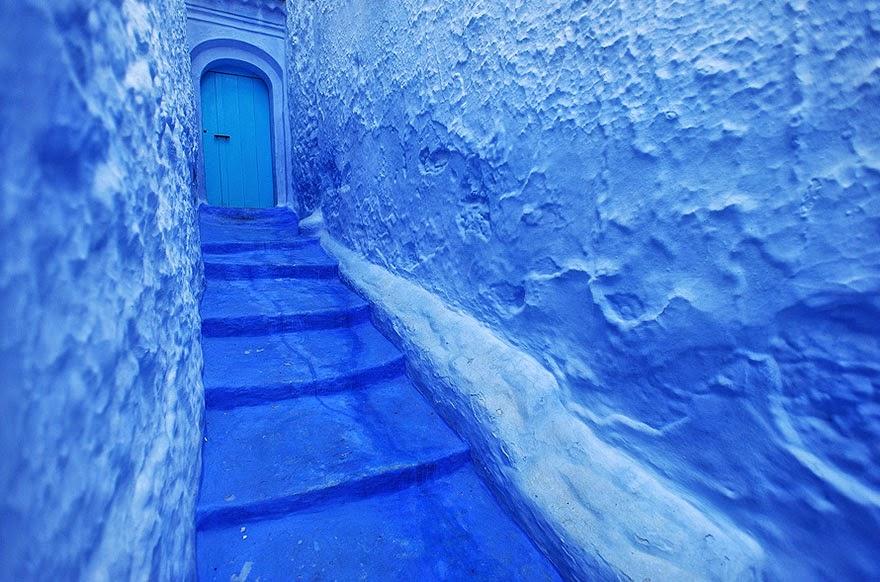 callejón azul