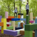 parque infantil formas básicas