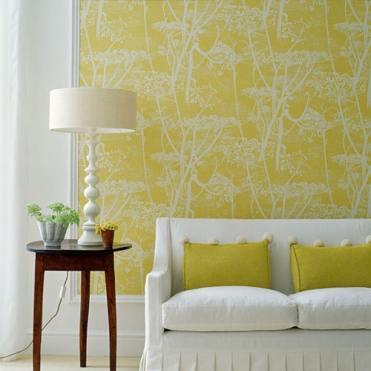 diseño interno amarillo